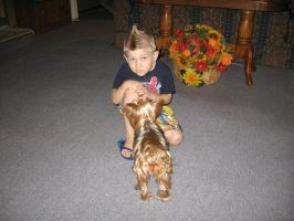dog and dylan by heatherrene1993