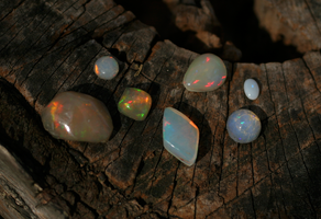 Opals in the Sun by KubusRubus