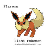 Flareon Doodle by draizor007