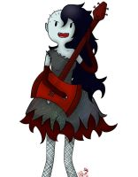 Marceline the Vampire Queen by HNRat