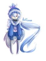 Chibi-Humanised Articuno by iEatIceCubes