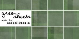 Texture Pack 8 - Green Sheets by lookslikerain