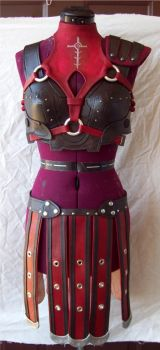 Leliana Armour WIP 5 by Xavietta