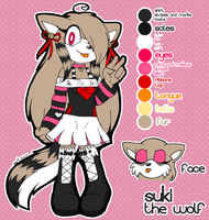COMM: Suki Reference by MintyStitch