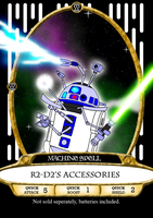 R2-D2's Accessories Spell Card by BennytheBeast