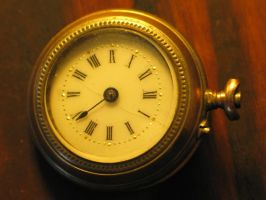 Old pocket watch II by LittleBlueStocking