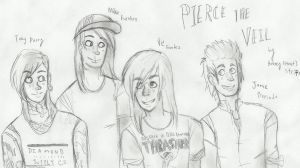 Pierce the Veil by Strawberry-Needles