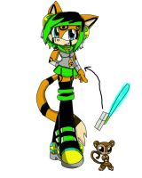 Zen the Margay's bio by queenmafdet