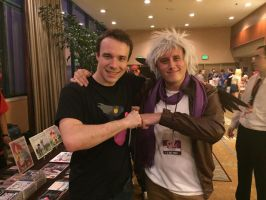 EQLA 2015: Me and BlackGryph0n by CinemaBrony