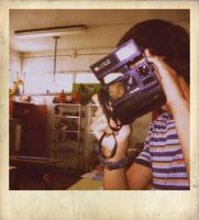 Polaroid ID in a Polaroid by Digaas