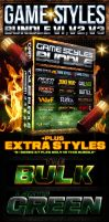 Game Photoshop Style Bundle by Industrykidz