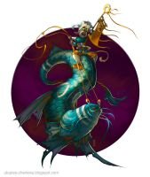 Fantasy fish by Catell-Ruz