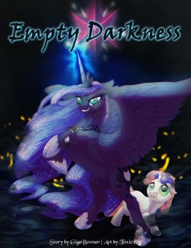 MLP FiM: Empty Darkness Cover by T0xicEye