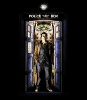 Dark Ink Tardis - Doctor Who by ABritishOrc