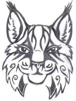 Tribal Lynx by SketchKat
