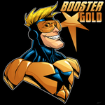 Booster Gold by dwaynebiddixart