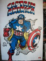 Captain America by CaptainMarvelous