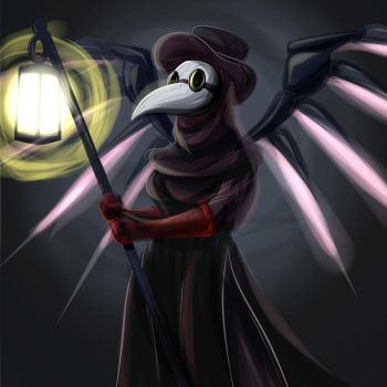 Plague Doctor Mercy by ChadRocco