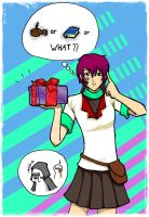 CR: Present for Her.. by mochitsuki-chan