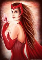 Scarlet Witch by FadingCrow
