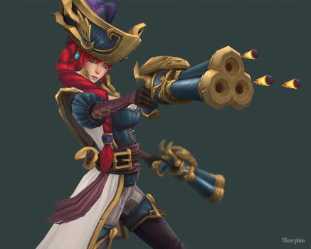 Captain Fortune by YBourykina