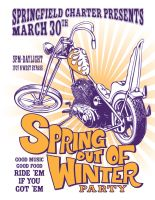 Spring out of Winter Poster by joshellis04