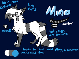 Mino Reference Sheet by Aevaln