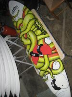 Octopop custom board by Sprayter