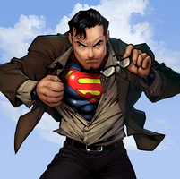 Superman_COLOR by vest