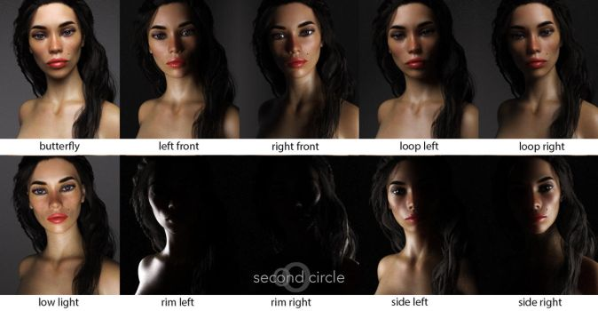 Daz Lighting Presets by second-circle