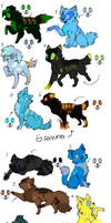 Element Adoptables by poisonflame
