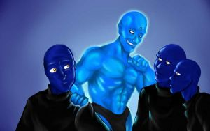 the blue man group by juanFoo