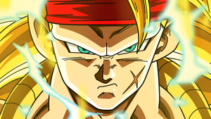 Bardock Super Saiyan 3 by Dark-Crawler
