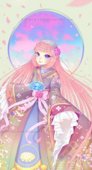 Pinku Princess .:Speed Paint:. by Vicle-chan