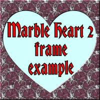 Marble Heart 2 frame for PSP 8 by Wild-Card-CR