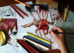 MY ORIGINAL DRAWINGS //Levi color by revinee