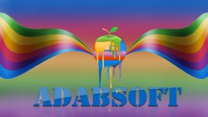 AdabSoft logo With Wings by adabsoft