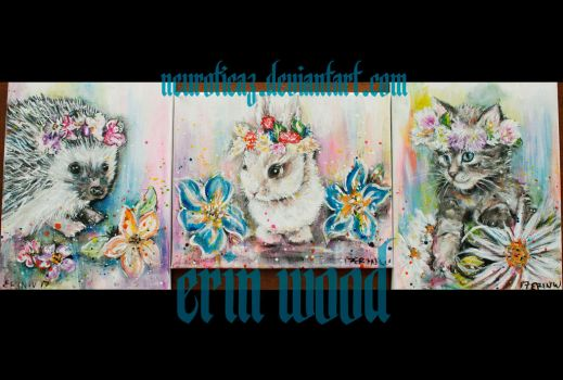 cutie critters collection by neuroticaz