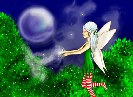 Christmas Fairy by shadowed93
