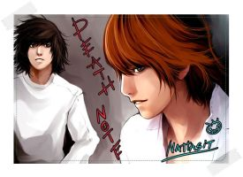 Death Note by wate-rcolor