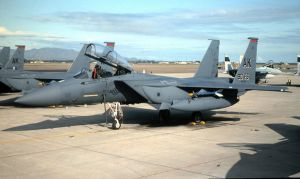 View From a Stand 90th FS Boss Bird by F16CrewChief