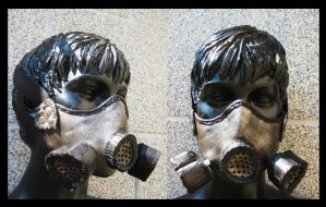 Bike leather mask by Miss-Gato