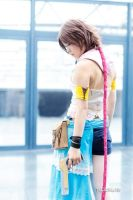Yuna [ Gunner Ver. ] from FFX-2 - 08 by YumiCosplay