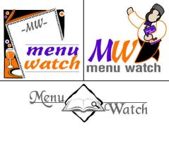 Menu watch logo by webiant