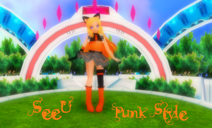 SeeU -Punk Ver + Model DL- by AdvancedCreator