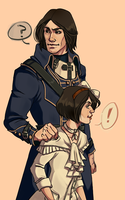 Hot dad and cute daughter by Yeahyeahyeaaah