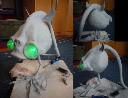 Oddworld Rat (just needs to be painted) by Corroder666