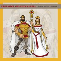 King Randor + Queen Marlena by thejason10