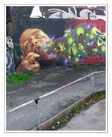 Graffiti VII by moonstomp