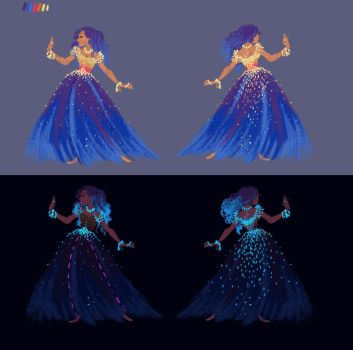 Tamatoa Dress Design by s0alaina